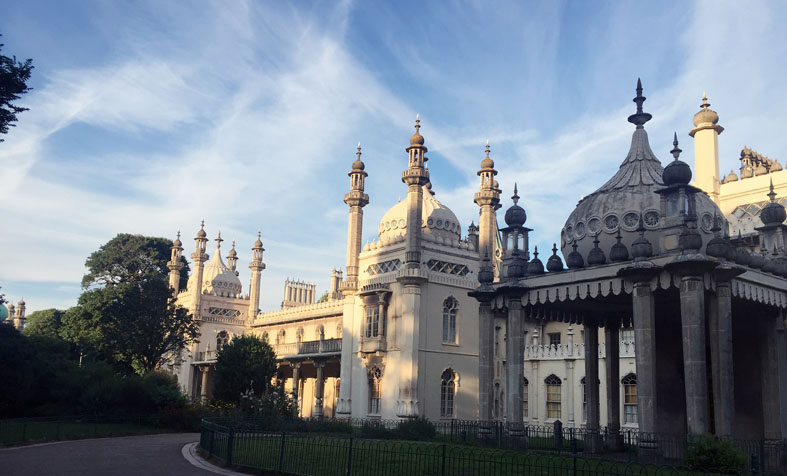 Indien in England: The Royal Pavilion.